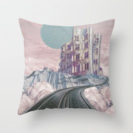 The way to heaven Throw Pillow