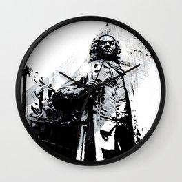 Johann Sebastian Bach Wall Clock