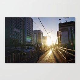 Ulaanbaatar Street View Canvas Print