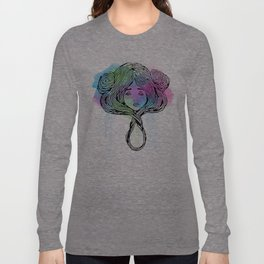 Star Child 1 Watercolor Long Sleeve T-shirt