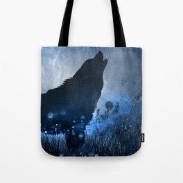 Twilight Wolf Tote Bag