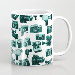 Cameras & Green Coffee Mug