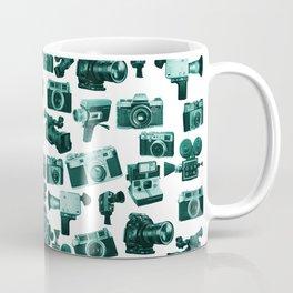 Cameras & Green Coffee Mug