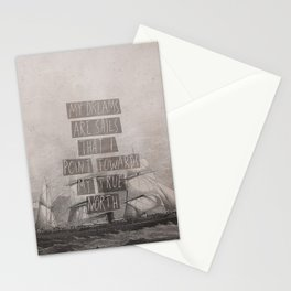 My Dreams Are Sails Stationery Cards