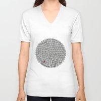 waldo V-neck T-shirts featuring Where's Waldo? by Ax38