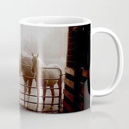 Gate horses Coffee Mug