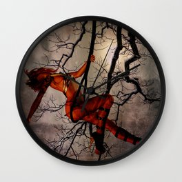 Once Wild Wall Clock