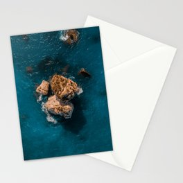 On the rocks - Petra tou Romiou Stationery Cards