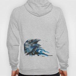 Blue crow Hoody