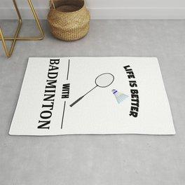 Badminton Rug