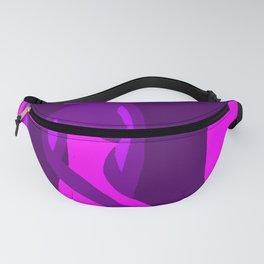 purple dress Fanny Pack