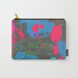 Abstract Urban Painting - Neon Street Art Carry-All Pouch
