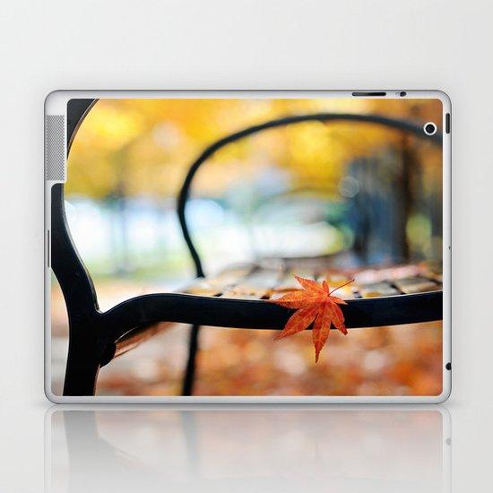 Wet Autumn Laptop & iPad Skin