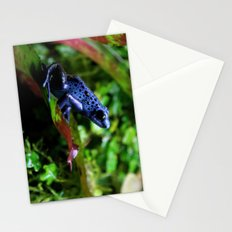 Blue Poison Dart Frog Stationery Cards