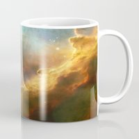 nasa Mugs featuring Bright nebula galaxy stars sagittarius constellation hipster geek cool space star nebulae NASA photo by iGallery