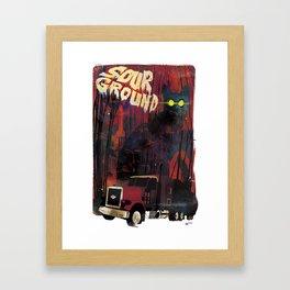Sour Ground - Pet Sematary Tribute Framed Art Print