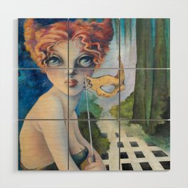 The Masquerade, Lucia Wood Wall Art