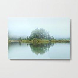 Misty Island Metal Print