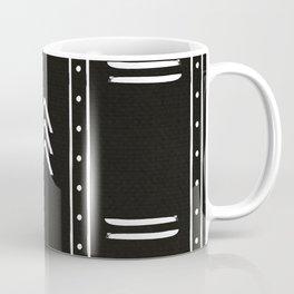 Minimalist mud cloth black Coffee Mug