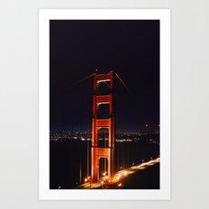 The Golden Gate Art Print