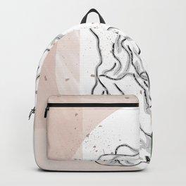 minimal Statue  Backpack