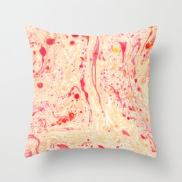 Abstract fig.1 Throw Pillow
