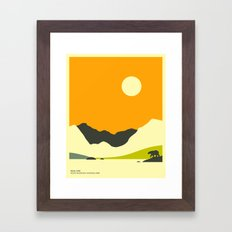ROCKY MOUNTAIN NATIONAL PARK, BEAR LAKE Framed Art Print