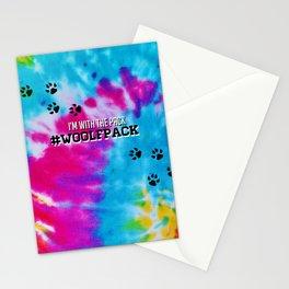 Woolfpack - Tie Dye Stationery Cards