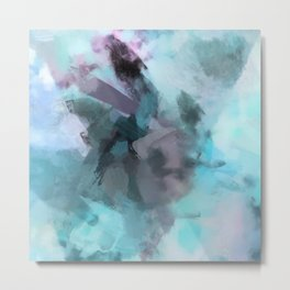 Misted Moments Metal Print