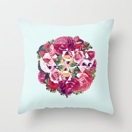 Flowers for Murders Throw Pillow
