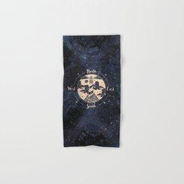 Compass World Star Map Hand & Bath Towel