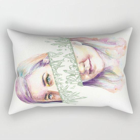 I Grow Crystals Rectangular Pillow