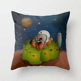 Welcome to mars! Throw Pillow