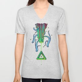 Geometry is for Ghosts 2 Unisex V-Neck