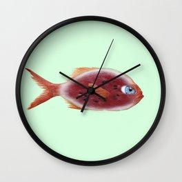 Fish watermelon Wall Clock