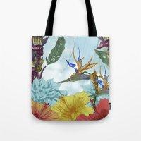 brasil Tote Bags featuring Brasil by Thyra