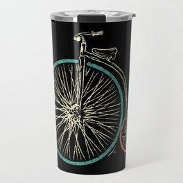 Cycling Forever | Penny Farthing High Wheel Travel Mug