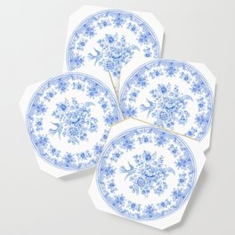 Blue asiatic pheasant Coaster