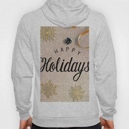 Happy Holidays Christmas Wishes Decor Hoody