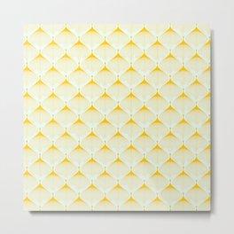 Saffron Bulbs Metal Print