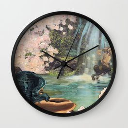 The Faun and the Mermaid Wall Clock