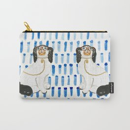 BESPECTACLED on BLUE Carry-All Pouch
