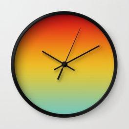 Color Gradient 005 Wall Clock