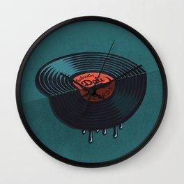 Hot Record Wall Clock
