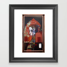 The city is crying Framed Art Print