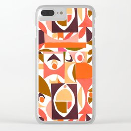 tango in the autumn ... Clear iPhone Case