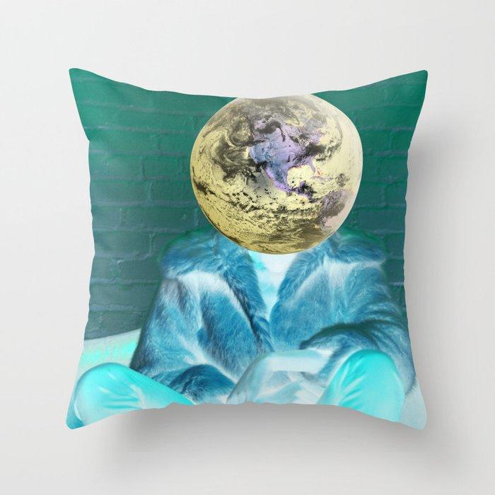 Seek No Approval Throw Pillow