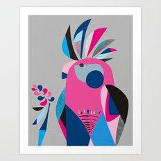 Miss Galah Art Print