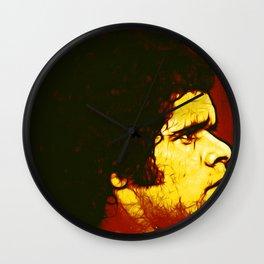 Indigenous Footballer Wall Clock