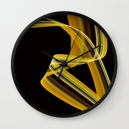 The dancing scarf Wall Clock